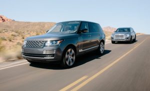 Land Rover + Jaguar