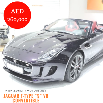 "Jaguar F-Type ""S"" V8 Convertible"